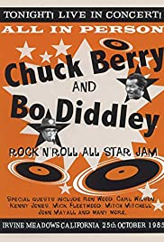 Chuck Berry & Bo Diddley's Rock 'n' Roll All Star Jam Poster
