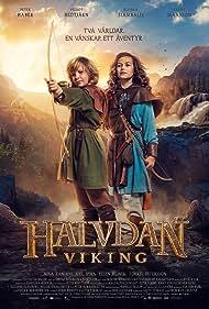 Vilgot Hedtjärn and Ellinea Siambalis in Halvdan Viking (2018)
