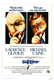 Laurence Olivier and Michael Caine in Sleuth (1972)