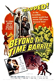 Beyond the Time Barrier Poster
