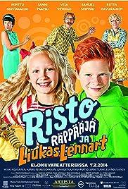 Risto Räppääjä ja liukas Lennart Poster