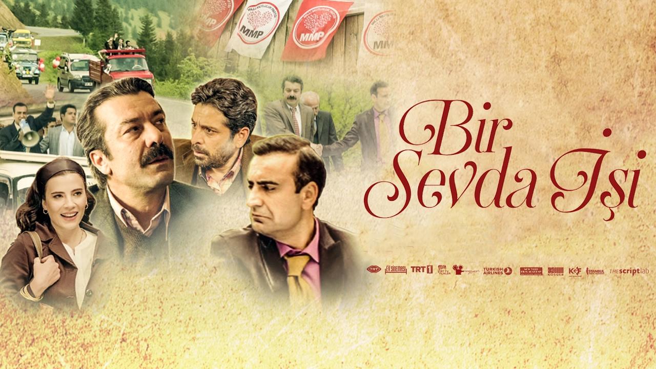 Selim Erdogan, Ugur Çavusoglu, Feyza Çipa, and Cem Zeynel Kiliç in Bir sevda isi (2015)
