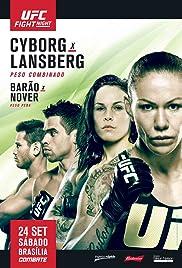 UFC Fight Night: Cyborg vs. Lansberg Poster