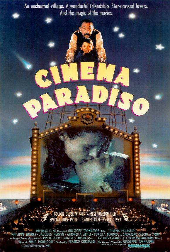 Nuovo Cinema Paradiso (1988) Image Poster