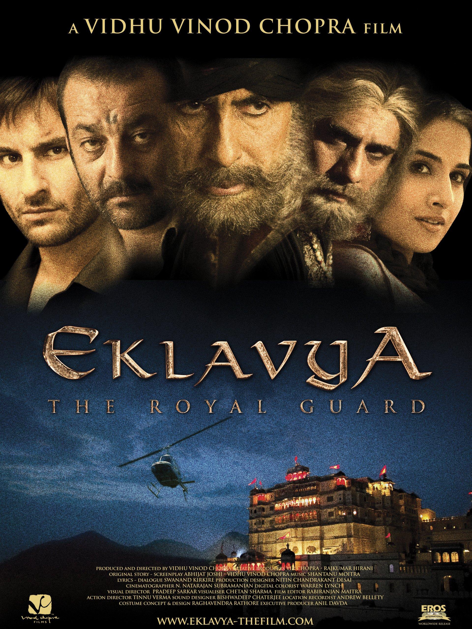 Eklavya: The Royal Guard 2007 Hindi 340MB HDRip ESubs Download