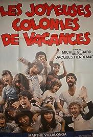 Les joyeuses colonies de vacances Poster