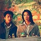 Michelle Yeoh and Brandon Chang in Tian mai zhuan qi (2002)