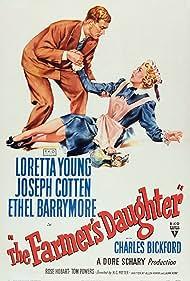 Joseph Cotten and Loretta Young in The Farmer's Daughter (1947)