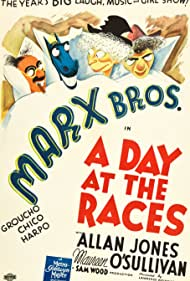 Groucho Marx, Chico Marx, and Harpo Marx in A Day at the Races (1937)
