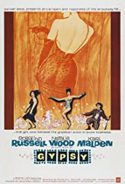 Gypsy (1962) Poster - Movie Forum, Cast, Reviews