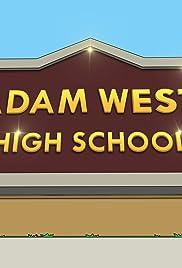 Adam West High Poster