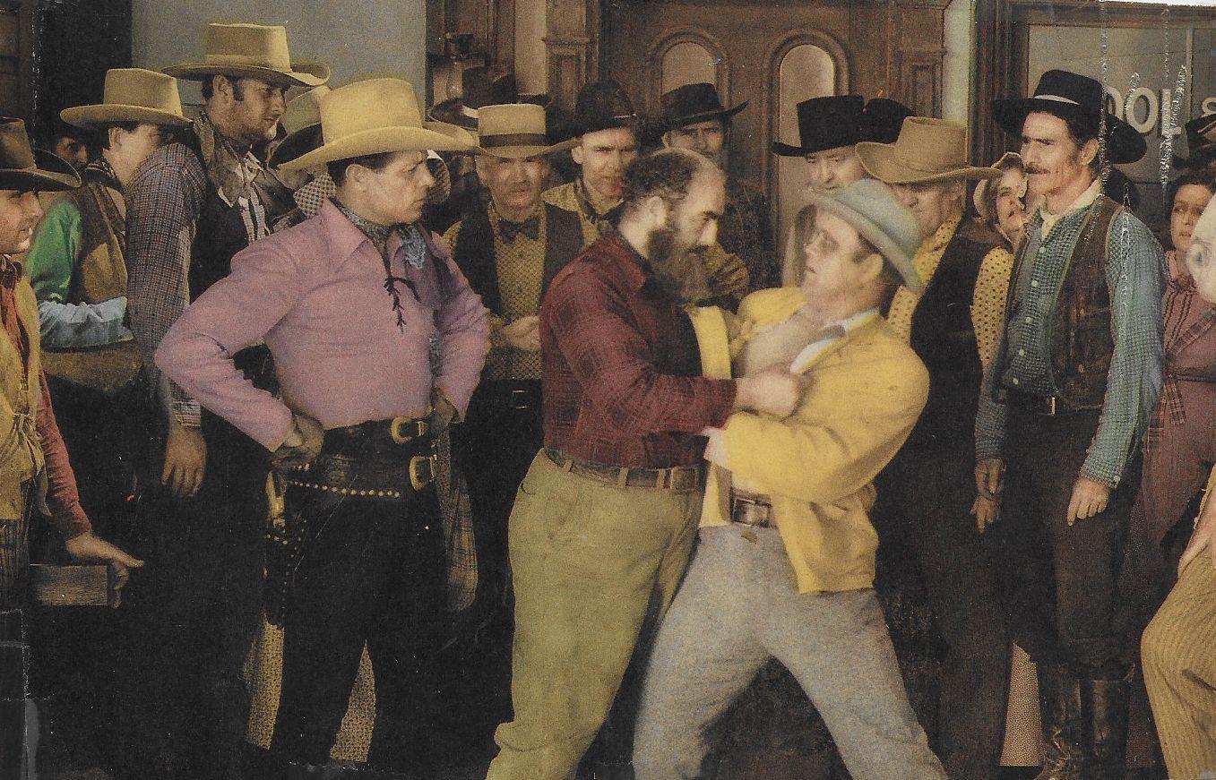 Bob Burns, Rufe Davis, Curley Dresden, Chick Hannan, Al Haskell, and Robert Livingston in Under Texas Skies (1940)
