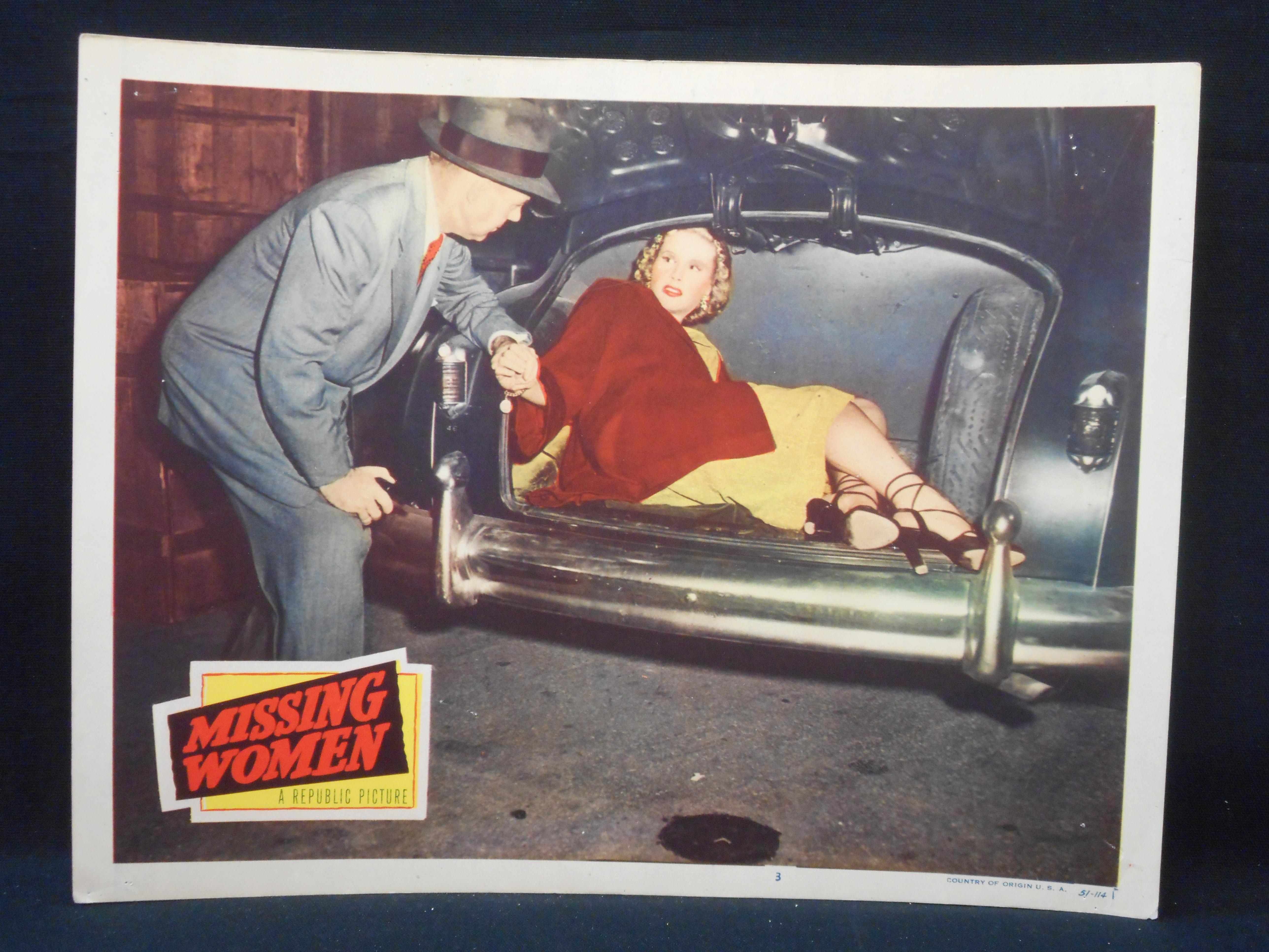 Penny Edwards in Missing Women (1951)