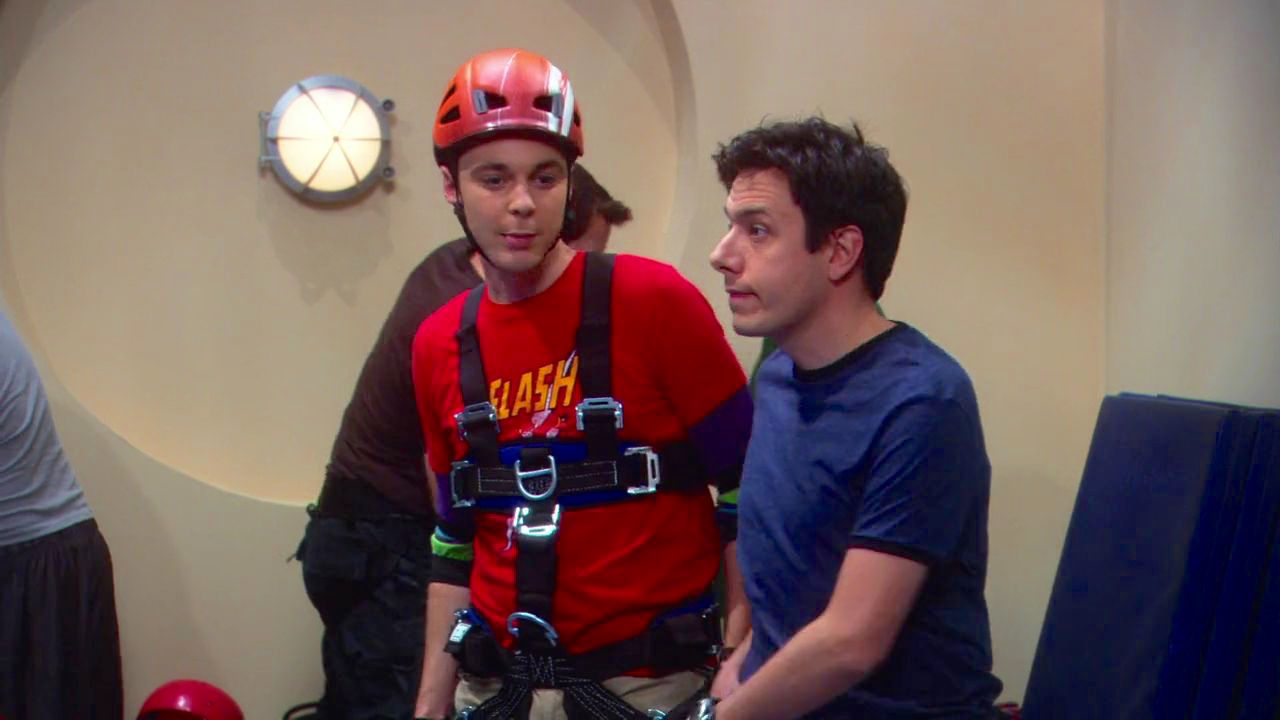 John Ross Bowie and Jim Parsons in The Big Bang Theory (2007)
