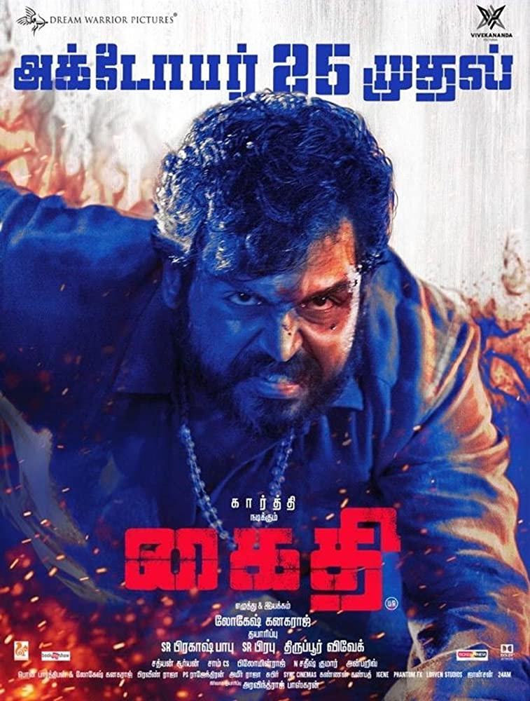 Kaithi (2019) Dual Audio 720p UNCUT WEB-DL [Hindi – Tamil] Free Download