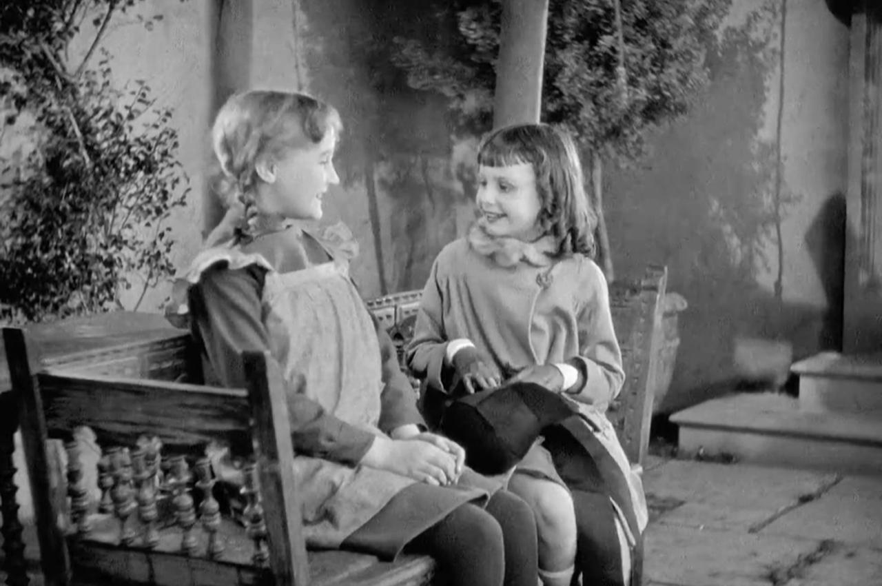 Joyce Coad and Yvonne Pelletier in Children of Divorce (1927)
