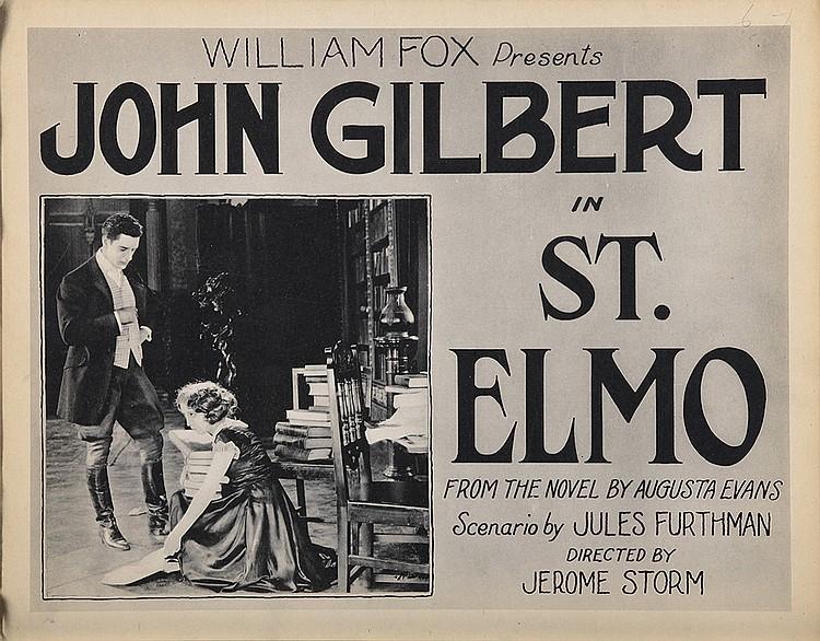 John Gilbert and Barbara La Marr in St. Elmo (1923)