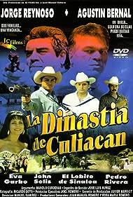 Agustín Bernal, Manolo Cárdenas, Eva Garbo, Jorge Reynoso, Pedro Rivera, Manuel Ramirez, John Solis, and Bulfrano Moreno in La Dinastia de Culiacan (1998)