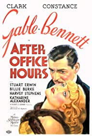 Clark Gable and Constance Bennett in After Office Hours (1935)
