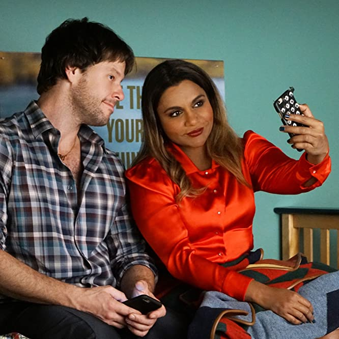 Ike Barinholtz and Mindy Kaling in The Mindy Project (2012)