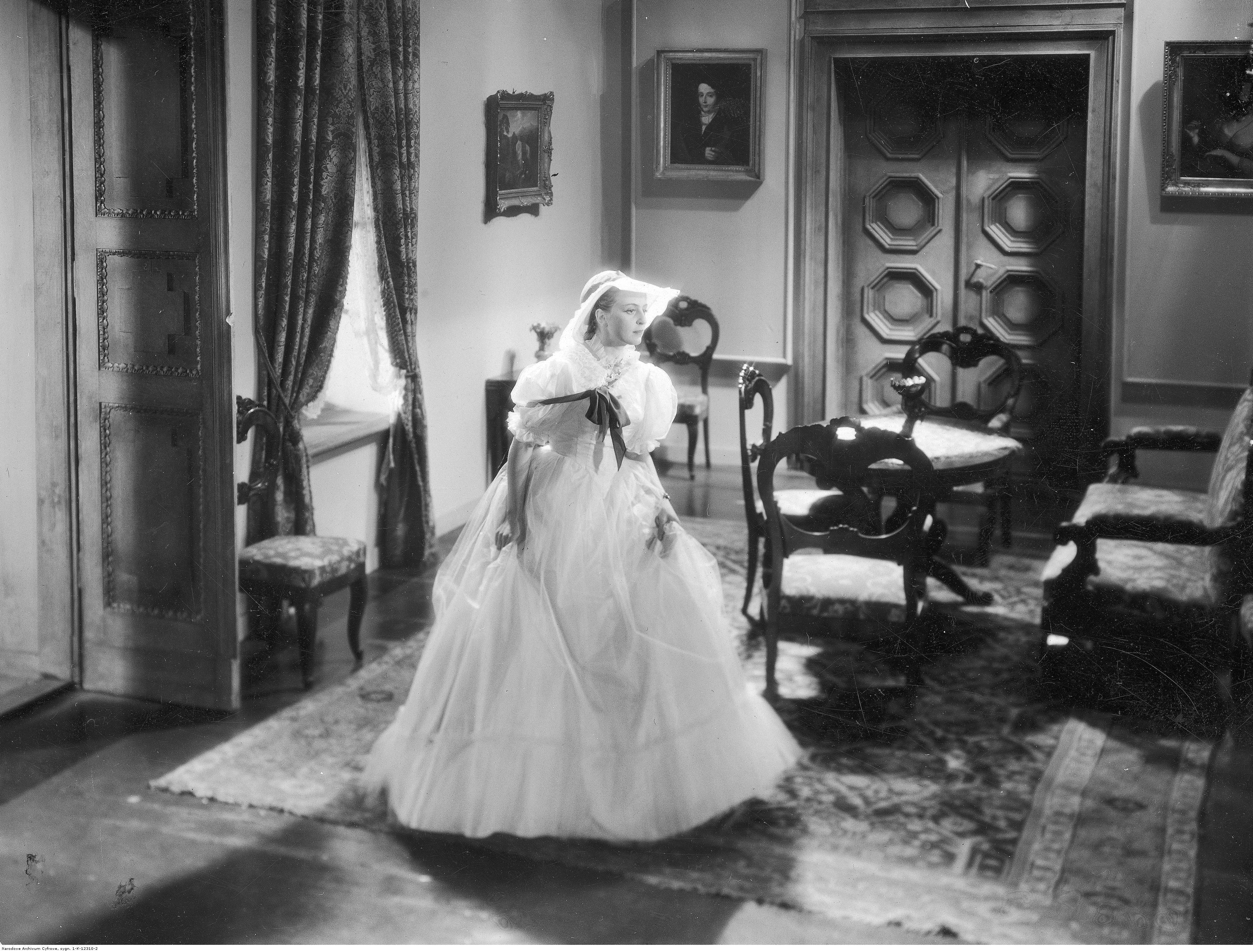 Elzbieta Barszczewska in Nad Niemnem (1939)