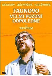 Faunovo velmi pozdní odpoledne(1983) Poster - Movie Forum, Cast, Reviews
