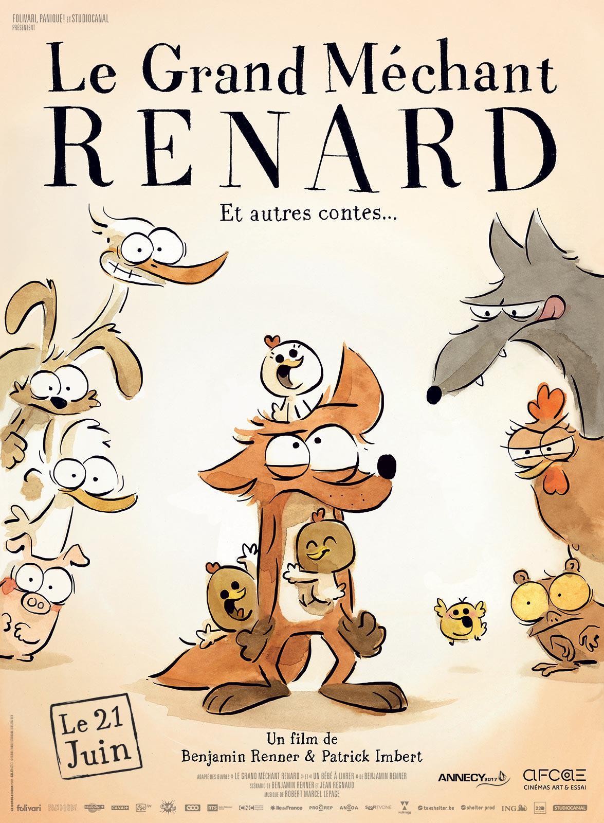 Didelė pikta lapė ir kitos pasakos (2017) / The Big Bad Fox and Other Tales...