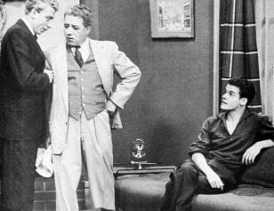 Robert Gadouas, Maurice Gauvin, and Paul Hébert in 14, rue de Galais (1954)