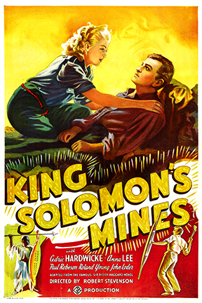 Cedric Hardwicke and Anna Lee in King Solomon's Mines (1937)