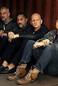 Turhan Troy Caylak, Francesco Toby, Anthony Carrigan, Nikita Bogolyubov, and Nick Gracer in Barry (2018)