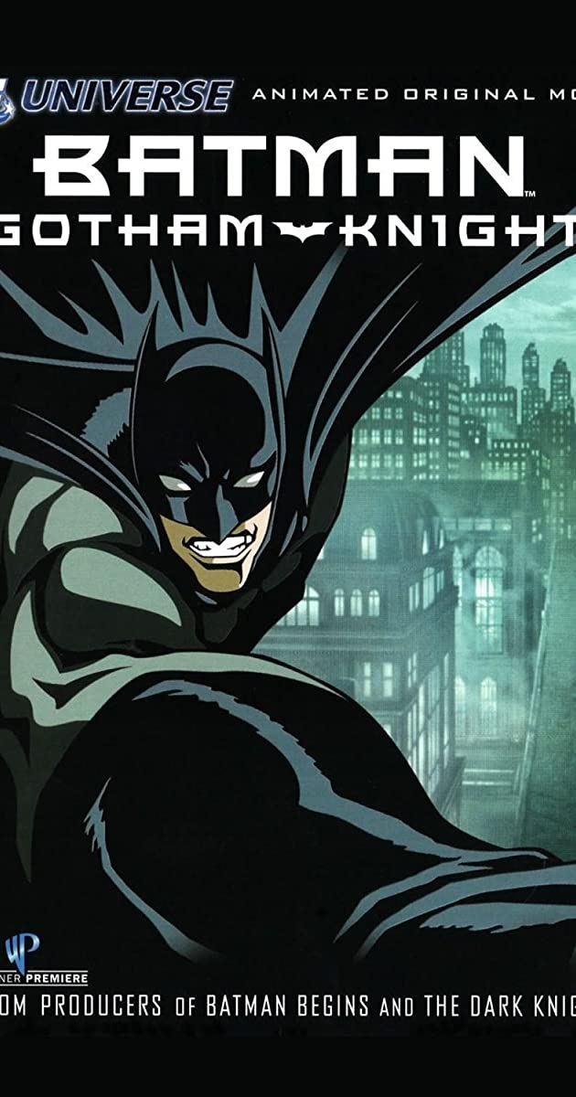 Subtitle of Batman: Gotham Knight