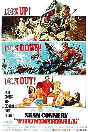 James Bond 007 Thunderball 1965