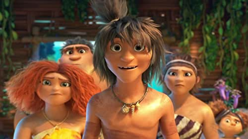 The Croods have survived their fair share of dangers and disasters, from fanged prehistoric beasts to surviving the end of the world, but now they will face their biggest challenge of all: another family