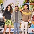 Nikkhil Advani, Imran Khan, and Kangana Ranaut at an event for Katti Batti (2015)