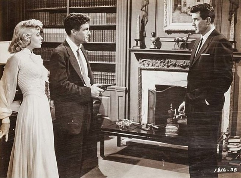 Rock Hudson, Dorothy Malone, and Robert Stack in Written on the Wind (1956)