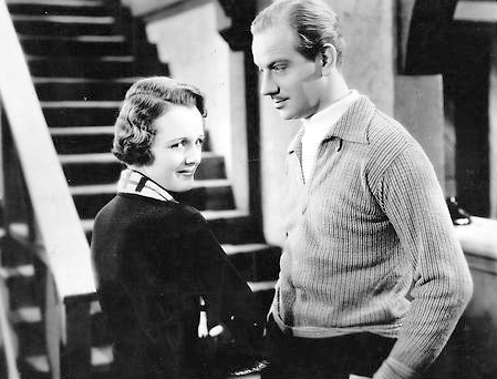 Mary Astor and Melvyn Douglas in And So They Were Married (1936)