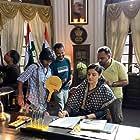 Raveena Tandon and Prashanth Neel in K.G.F: Chapter 2 (2022)