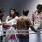 Trisha Krishnan, Jiiva, and I. Ahmed in Endrendrum Punnagai (2013)