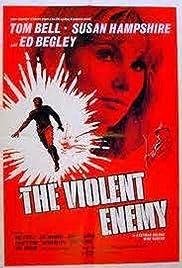 The Violent Enemy Poster