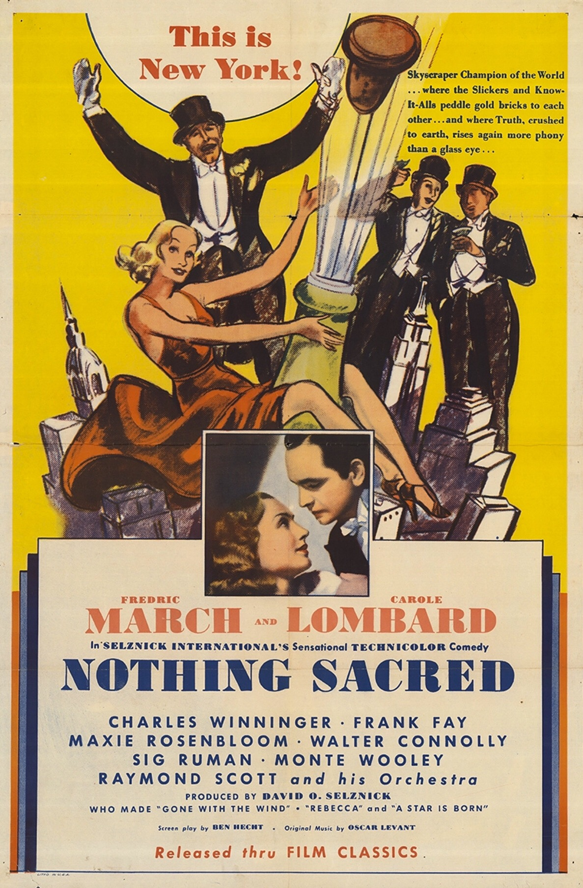 Image result for Nothing Sacred 1937