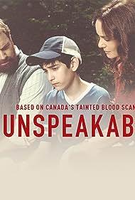 Michael Shanks, Sarah Wayne Callies, and Ricardo Ortiz in Unspeakable (2019)