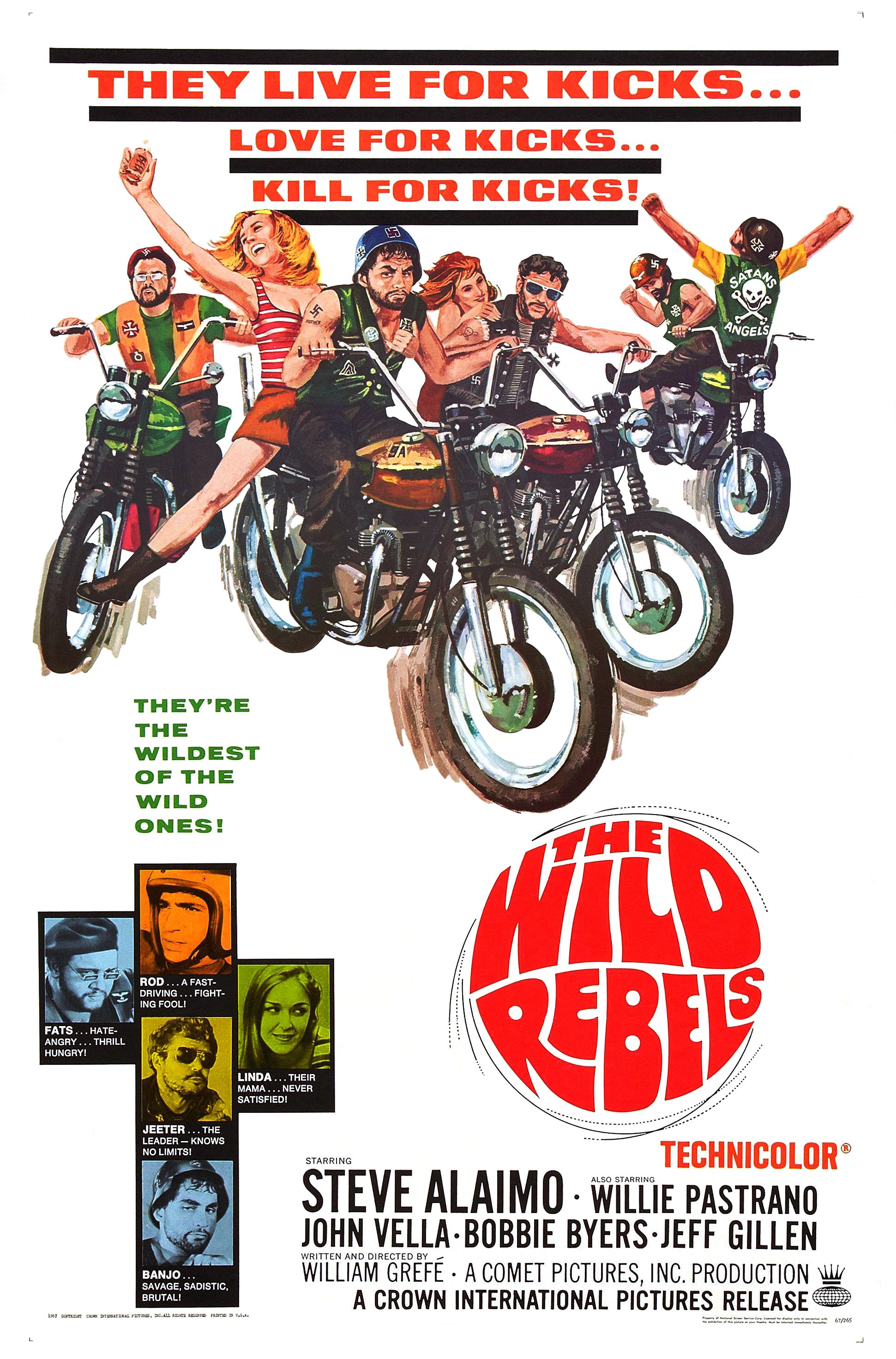 the wild rebels 1967 imdb