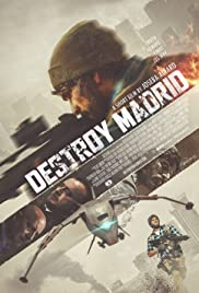 Destroy Madrid Poster