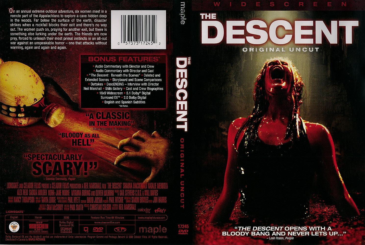 نتيجة بحث الصور عن The Descent (2005)