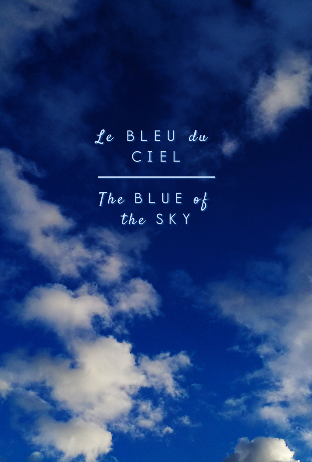 The Blue Of The Sky 2018 Imdb