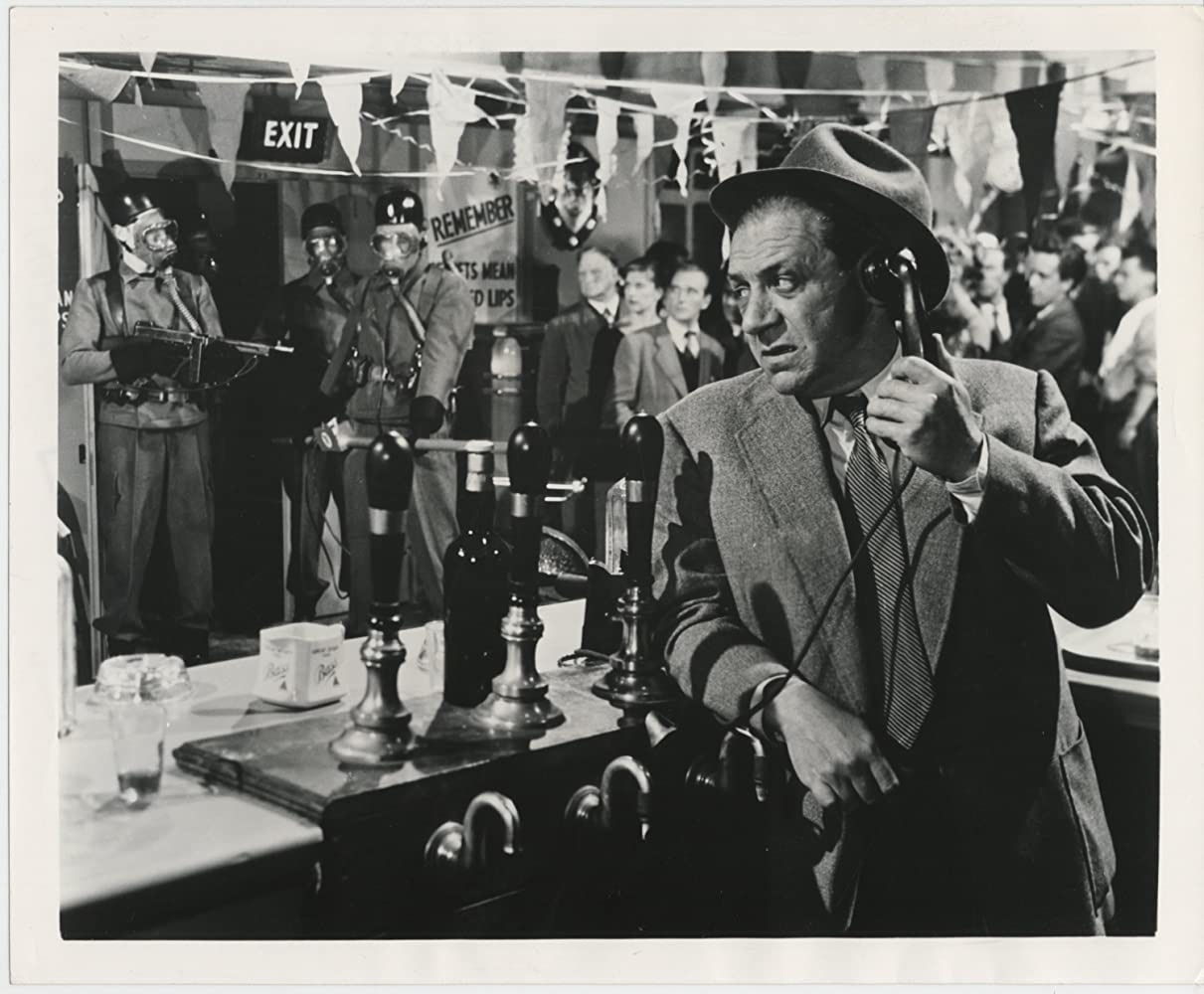 Sidney James in Quatermass 2 (1957)