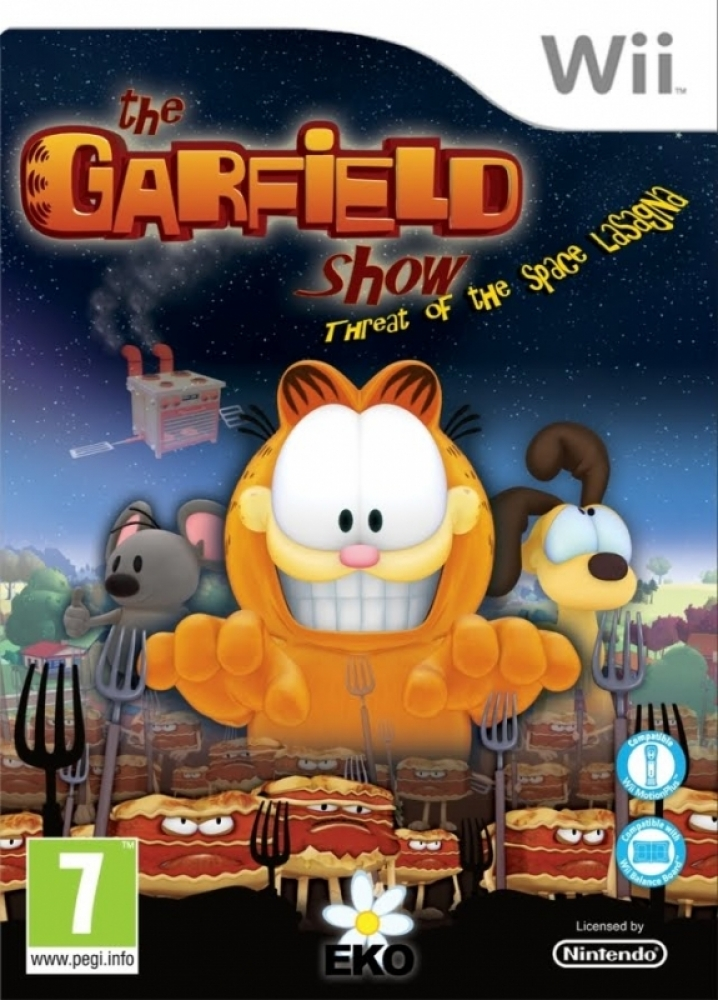 The Garfield Show Threat Of The Space Lasagna Video Game 2010 Imdb