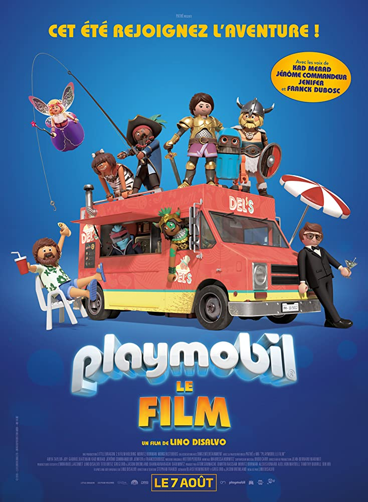 Playmobil: The Movie Cover