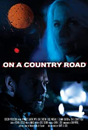 On a Country Road Poster
