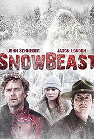Jason London, John Schneider, Danielle C. Ryan, Kari Hawker-Diaz, Paul D. Hunt, and Gregg Christensen in Snow Beast (2011)